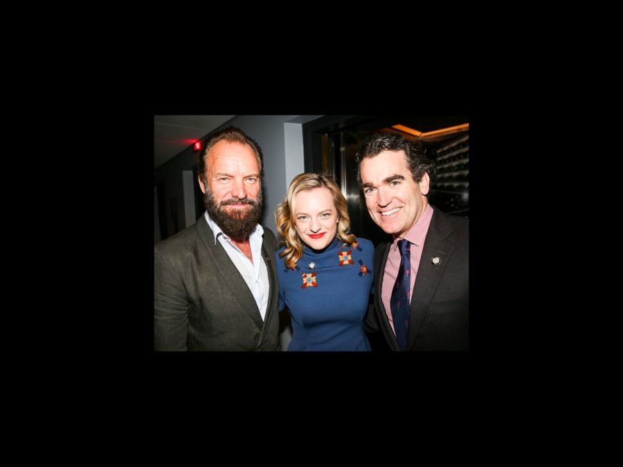 OP - Tony Nominee - Brunch - wide - 4/15 - Sting - Elisabeth Moss - Brian d'Arcy James