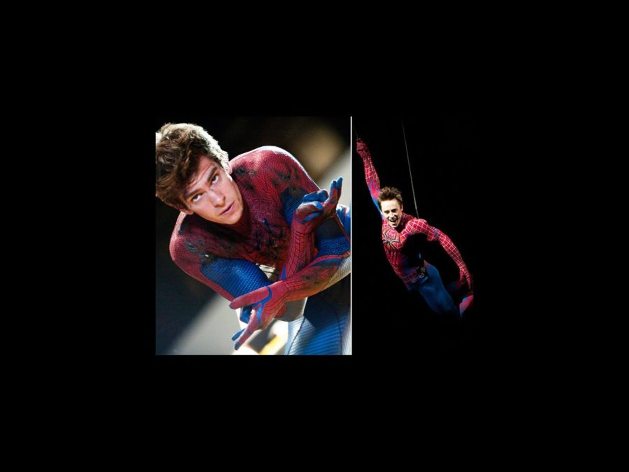 Andrew Garfield - Reeve Carney - Spider-man - wide - 7/12