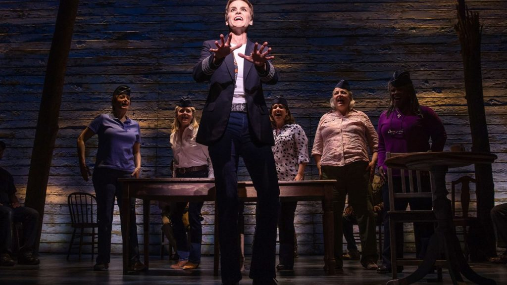 PS - Come from Away - Jenn Colella and the cast of COME FROM AWAY