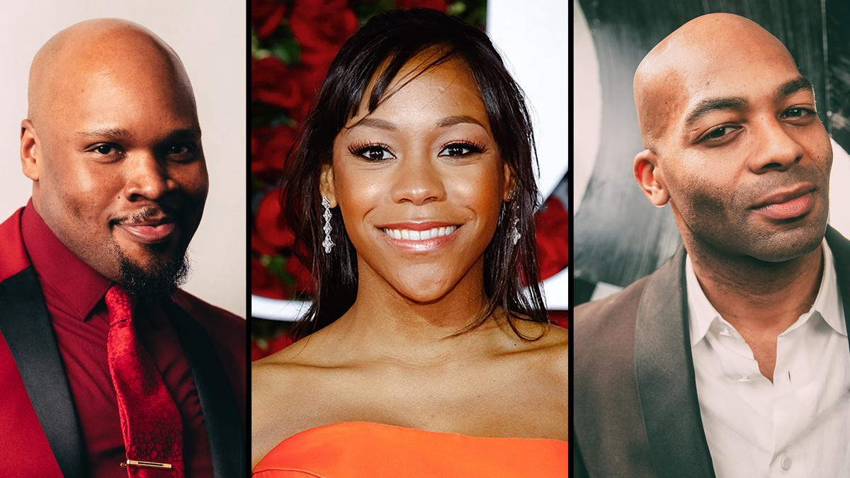 Michael James Scott - Nikki M James - Brandon Victor Dixon - Montego Glover - 6/20 - EMK - Caitlin McNaney