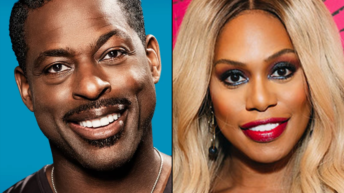 Sterling K. Brown - Laverne Cox - 3/21 - Photos courtesy of One Archives & Emilio Madrid for Broadway.com