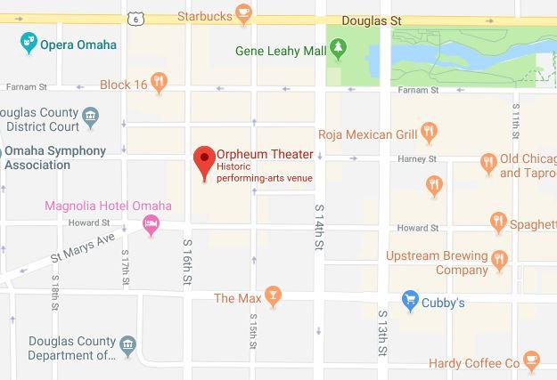 Orpheum Theater - Omaha