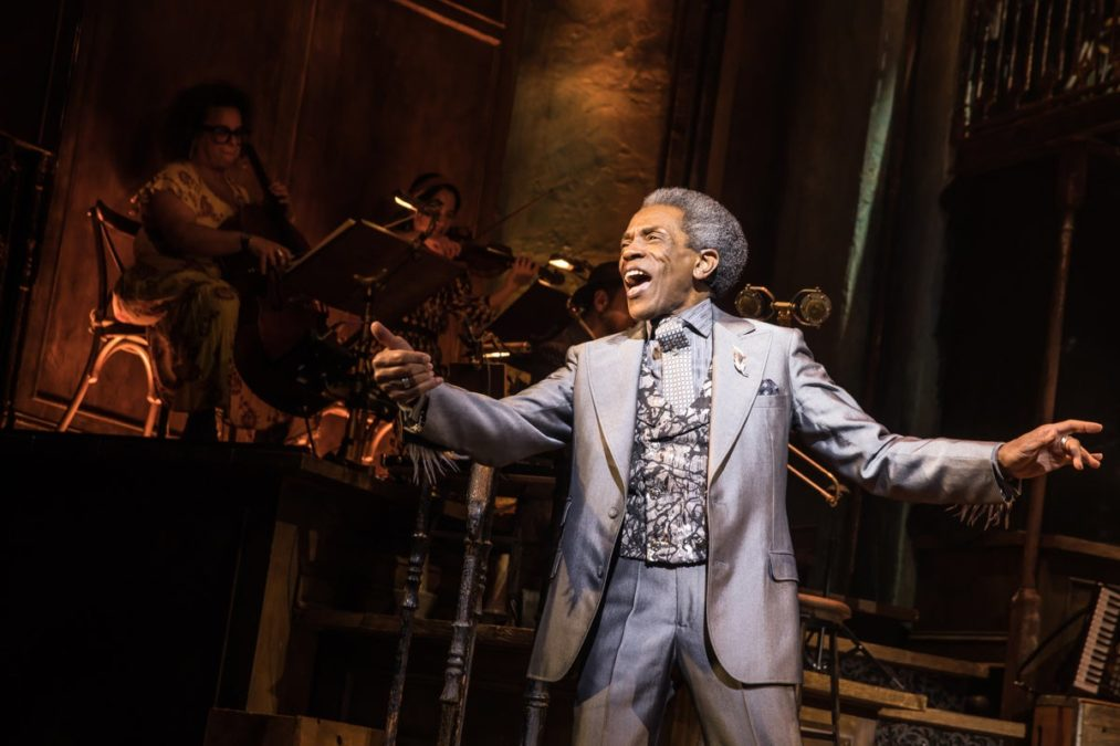 Show Photos - Hadestown - 4/19 - Andre De Shields - Photo: Matthew Murphy